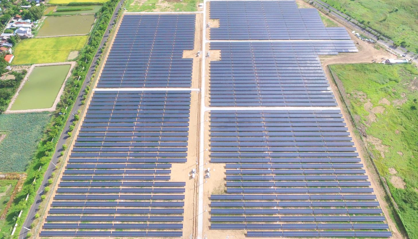 Binh Hoa Industrial Park in An Giang Province of Vietnam (10 MW)